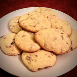 Orange cranberry lemon cookies